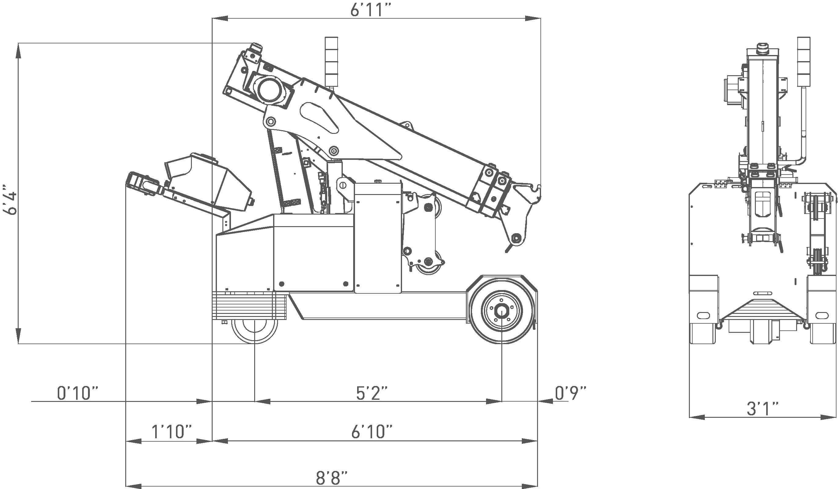 MPK20-dimensions