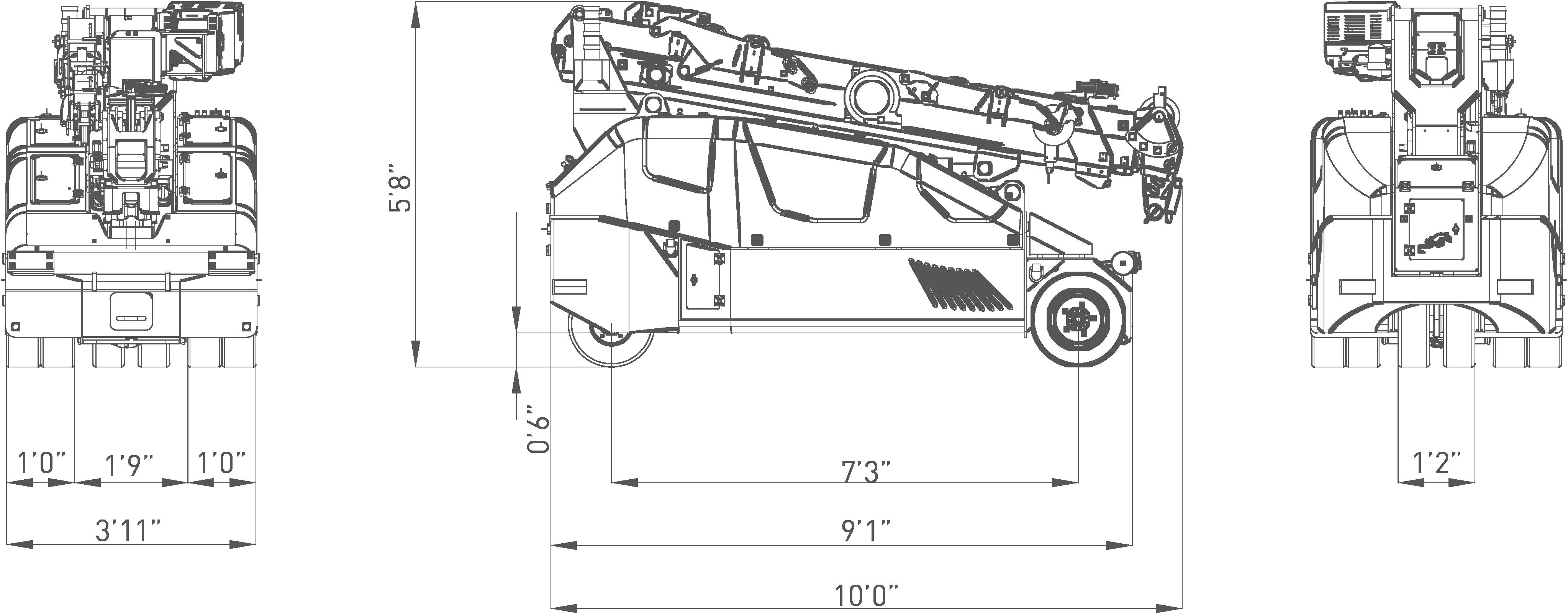 MPK50-dimensions