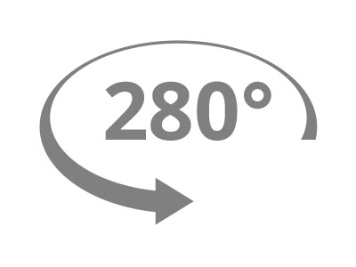 280° Rotation